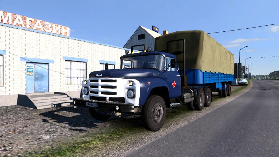 ZIL 130-131-133 UPDATED 1 32 X   ETS2 mods   Euro truck