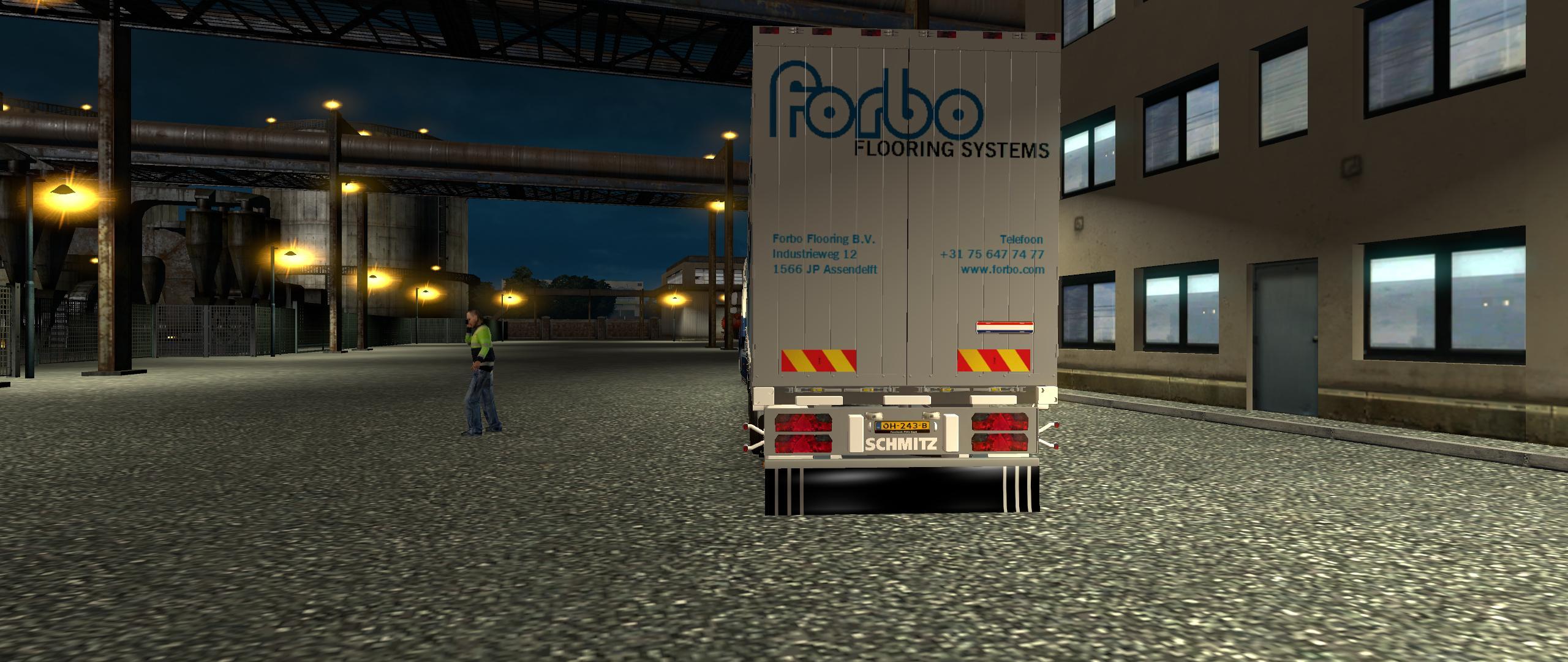 forbo trailer animation ets2 mods euro truck. Black Bedroom Furniture Sets. Home Design Ideas