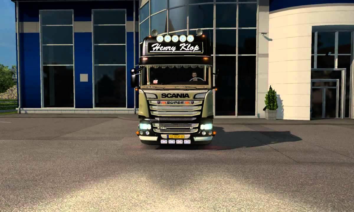 Henry Klop Scania R520 Beauty Class Ets2 Mods Euro