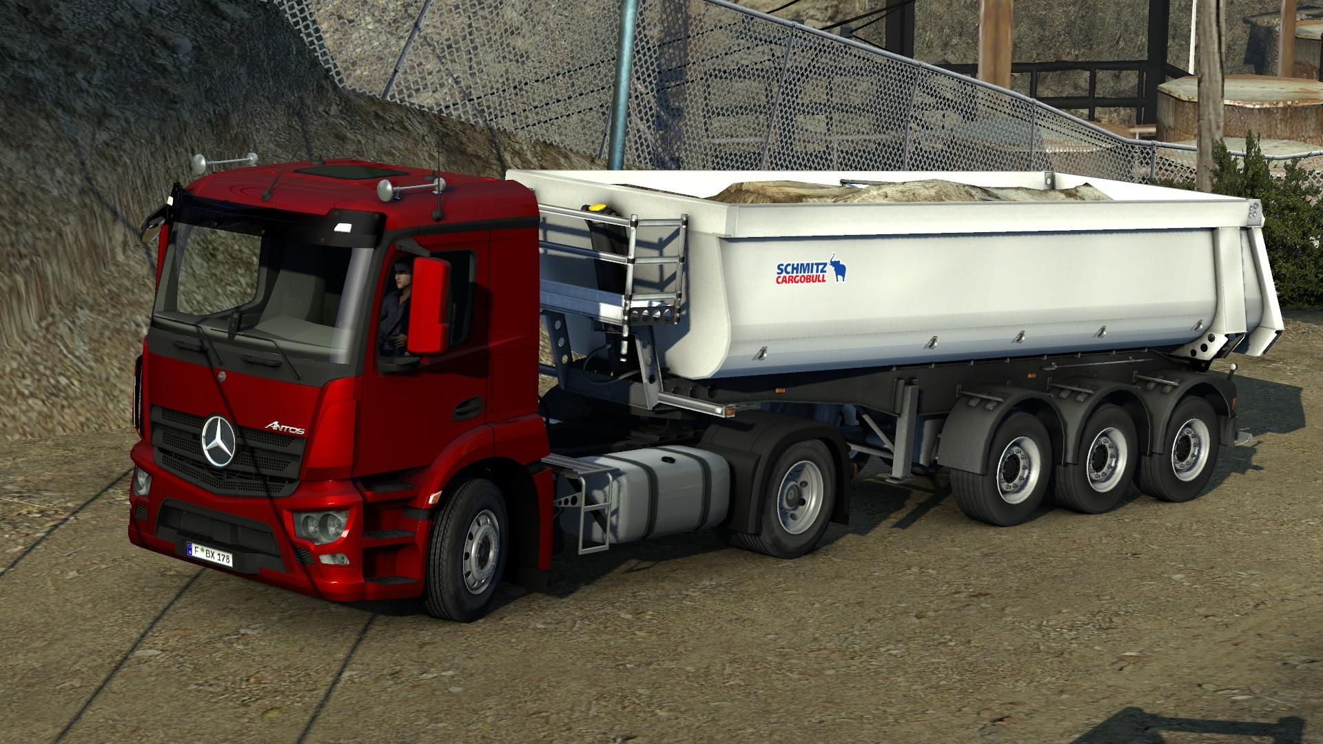 Mercedes benz antos 39 12 ets2 mods euro truck simulator for Mercedes benz truck pictures
