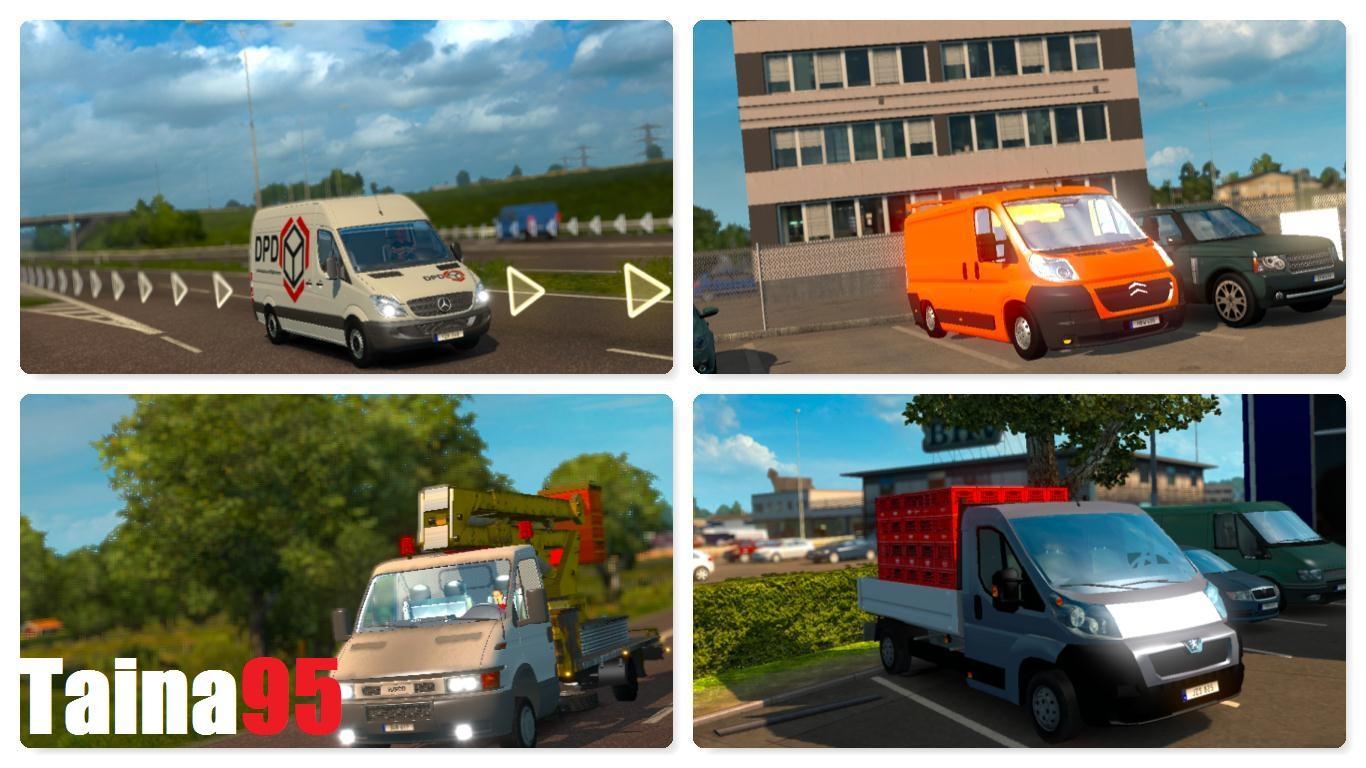 AI Traffic Mods Pack v1 17 | ETS2 mods | Euro truck