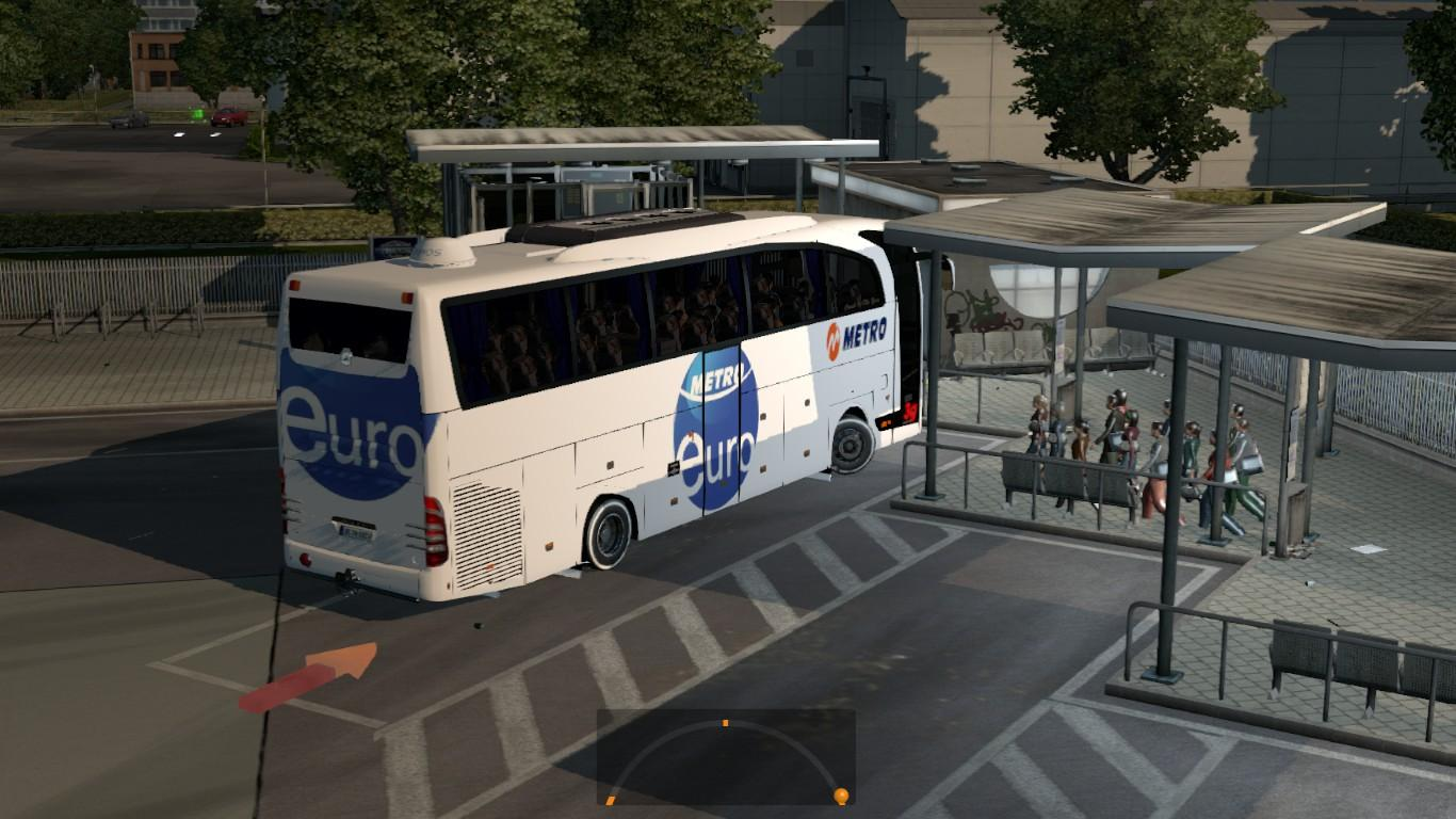 BUS PASSENGER TRANSPORT AND TERMINAL MODE 1 18 | ETS2 mods