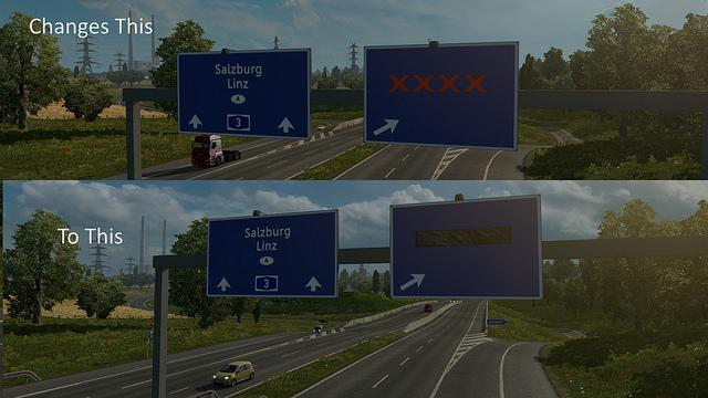 Closed Road Sign Ets2 Mods Euro Truck Simulator 2 Mods