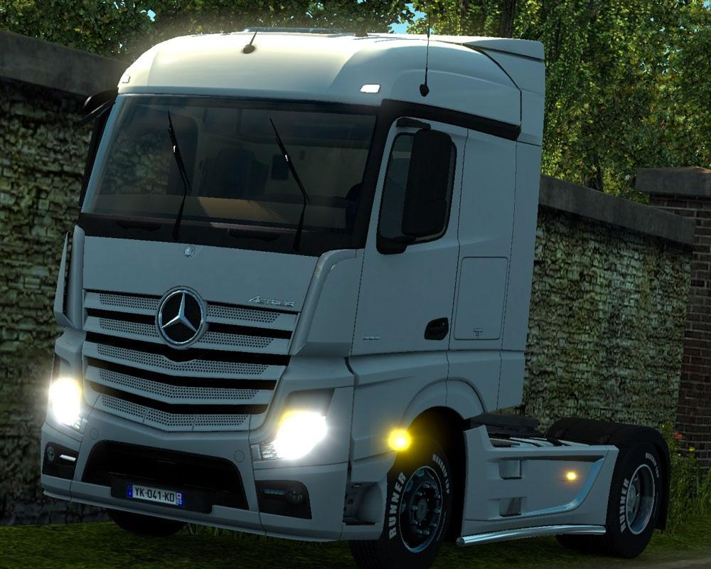 NEW ACTROS IMPROVEMENTS | ETS2 mods | Euro truck simulator 2 mods