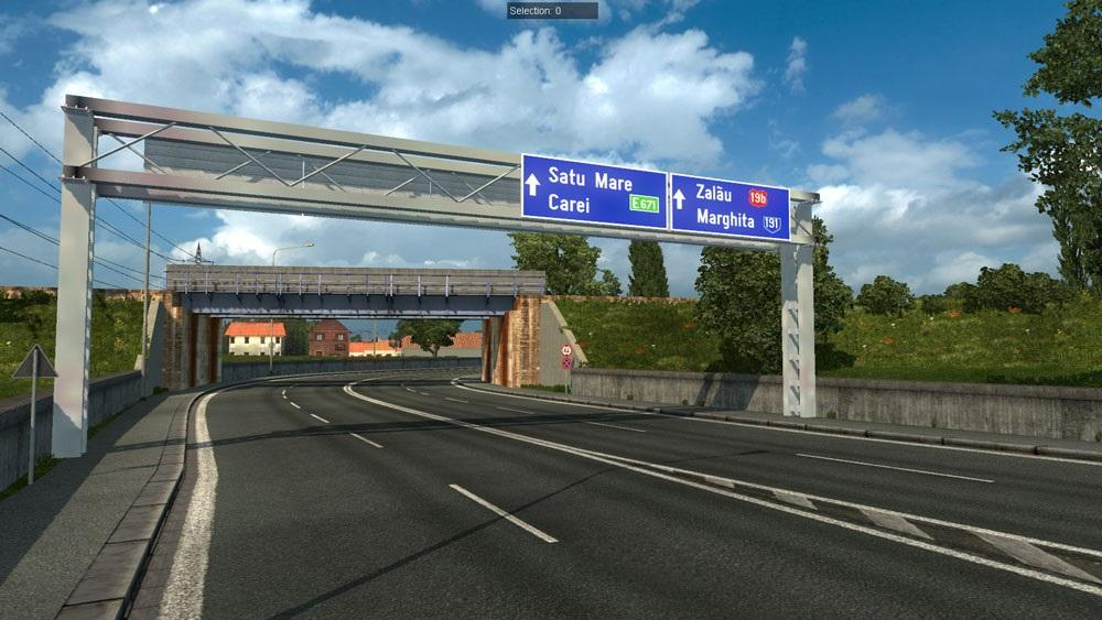Download euro truck simulator 2 mod: romania map add-on free.