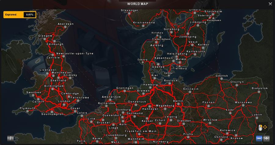 скачать мод на Euro Truck Simulator 2 на карту - фото 8