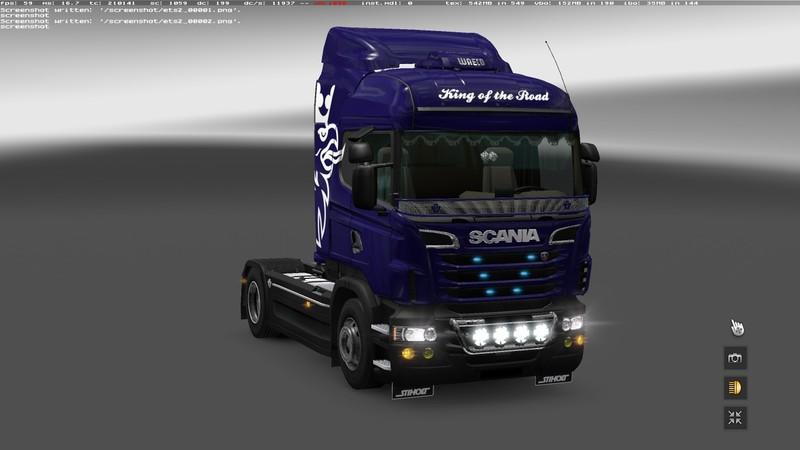 Tuning For Scania Rs V1 18 1s Ets2 Mods Euro Truck