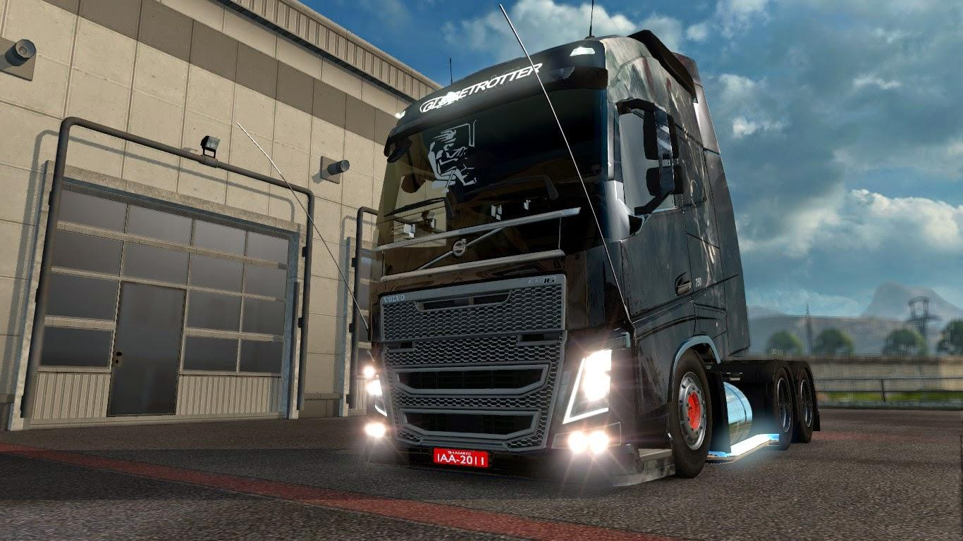 volvo fh16 2013 edit brasileiro v2 0 ets2 mods euro. Black Bedroom Furniture Sets. Home Design Ideas