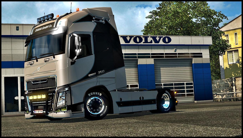 Volvo Fh16 2013 Ohaha Skin V1 17 Ets2 Mods Euro Truck