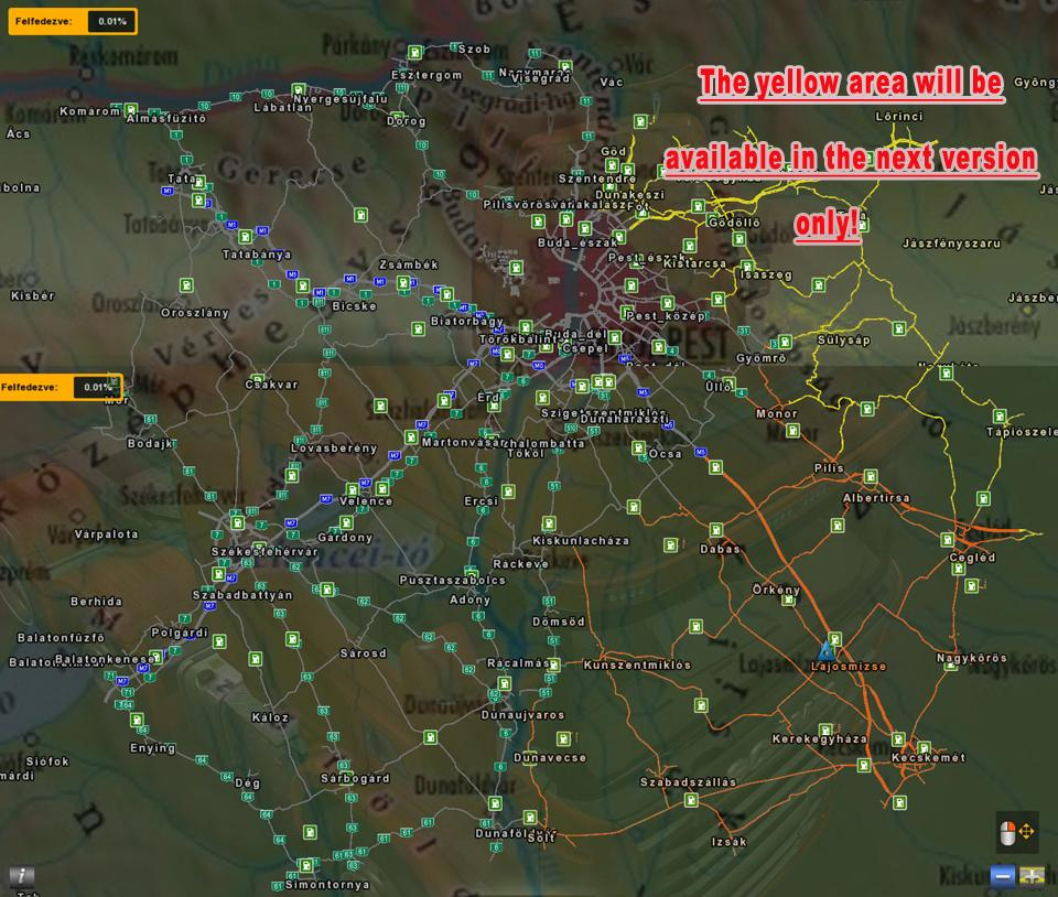 Hungary Map V0925 Ets 2 Mods Euro Truck Simulator: America Map For Euro Truck Simulator 2 At Usa Maps