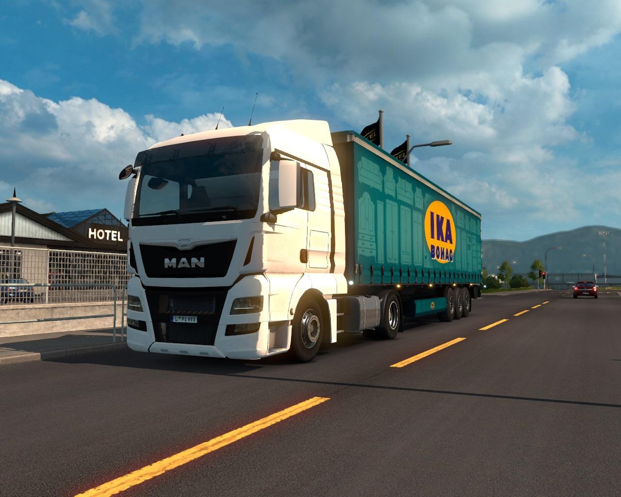 MAN TGX Euro6 v1 0 | ETS2 mods | Euro truck simulator 2 mods