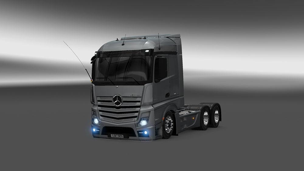 Mercedes Benz Actros Mp4 2014 New Demoted Ets 2 Mods