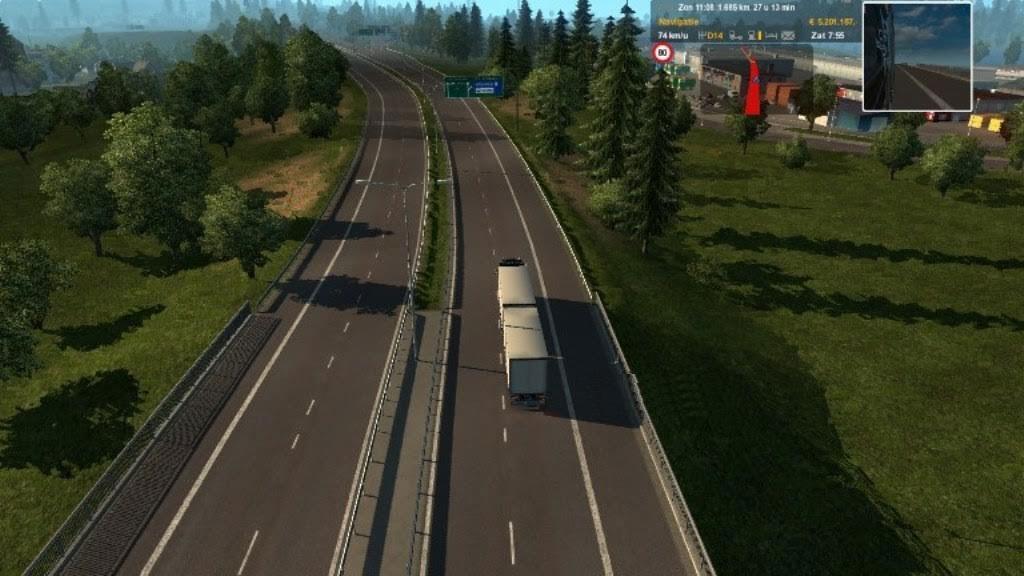 outside camera zoom ets 2 mods   euro truck simulator 2