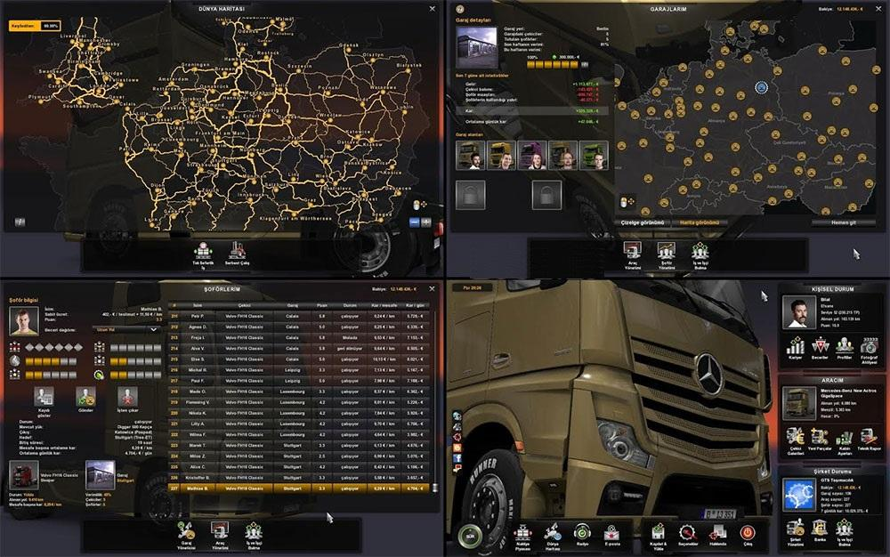 Euro truck simulator 2 full save game free download | Euro Truck