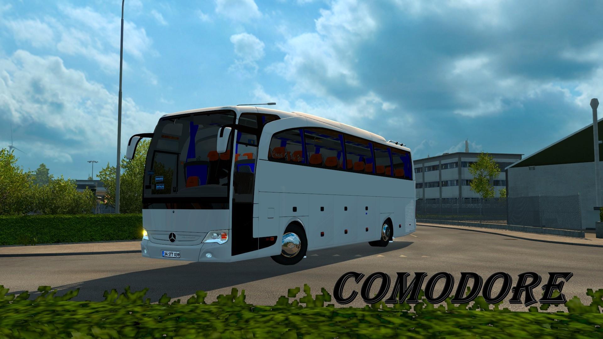 Mercedes-Benz Travego 15-17 SHD V3 5 1 18 X | ETS2 mods