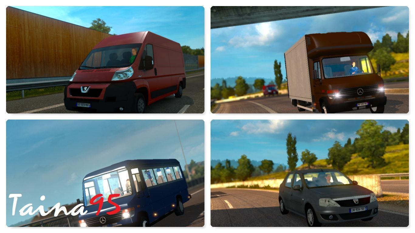 Mod Police Recruitment >> AI TRAFFIC PACK MOD V1.18 | ETS2 mods | Euro truck simulator 2 mods - ETS2MODS.LT