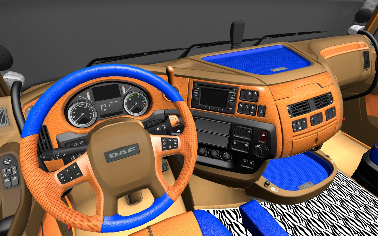DAF XF EURO 6 LIMITED EDITION INTERIOR 1 18 X | ETS2 mods