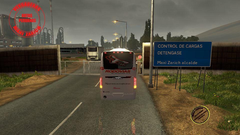 PERU MAP MAXI ZARICH V ETS Mods Euro Truck Simulator - Argentina map ets2
