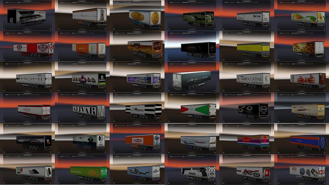 MARCHI ITA TRAILERS PACK V2.1   ETS2 mods   Euro truck simulator 2 mods -  ETS2MODS.LT