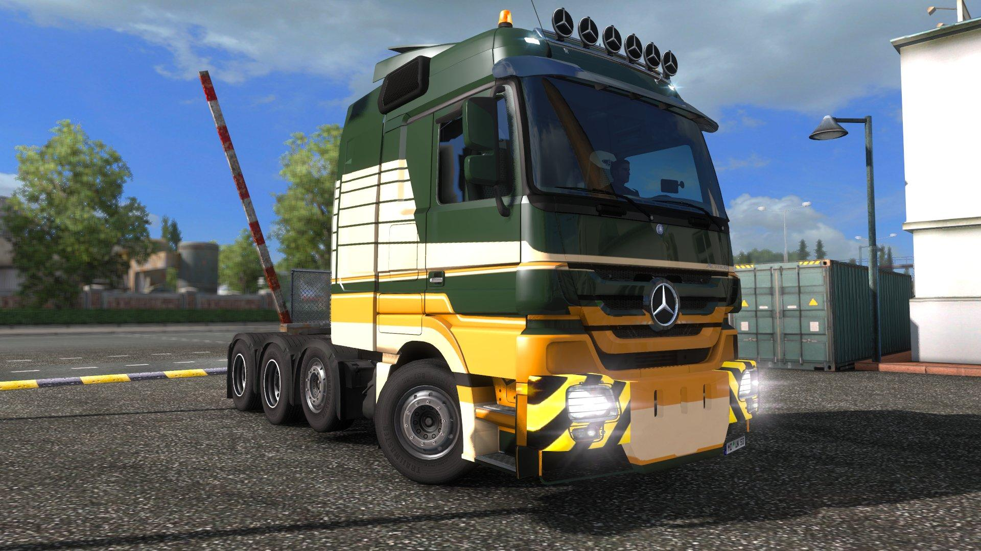 Mercedes Actros 4160 Slt 8x4 Titan V1 0