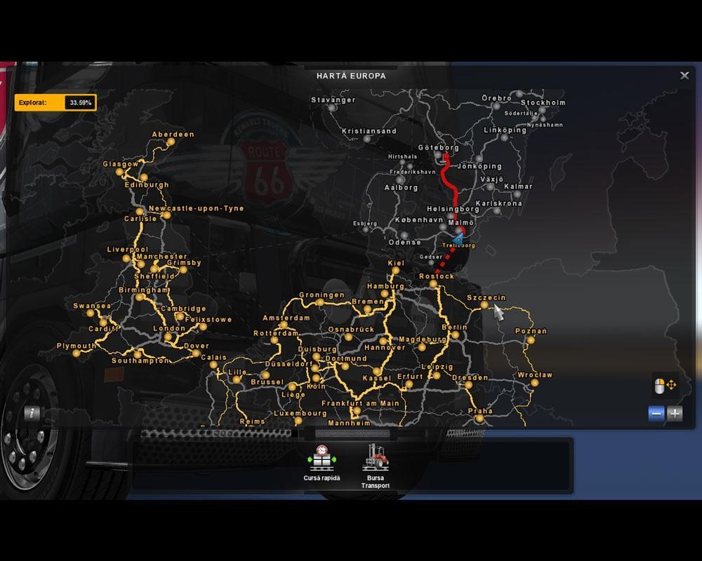 скачать евро трек симулятор 2 с картой россии скандинавии и африки - фото 8