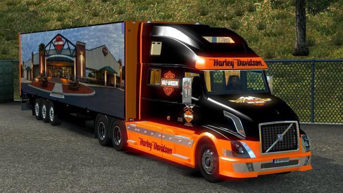 Volvo Vnl 780 Harley Davidson Ets2 Mods Euro Truck Simulator 2 Mods Ets2mods Lt