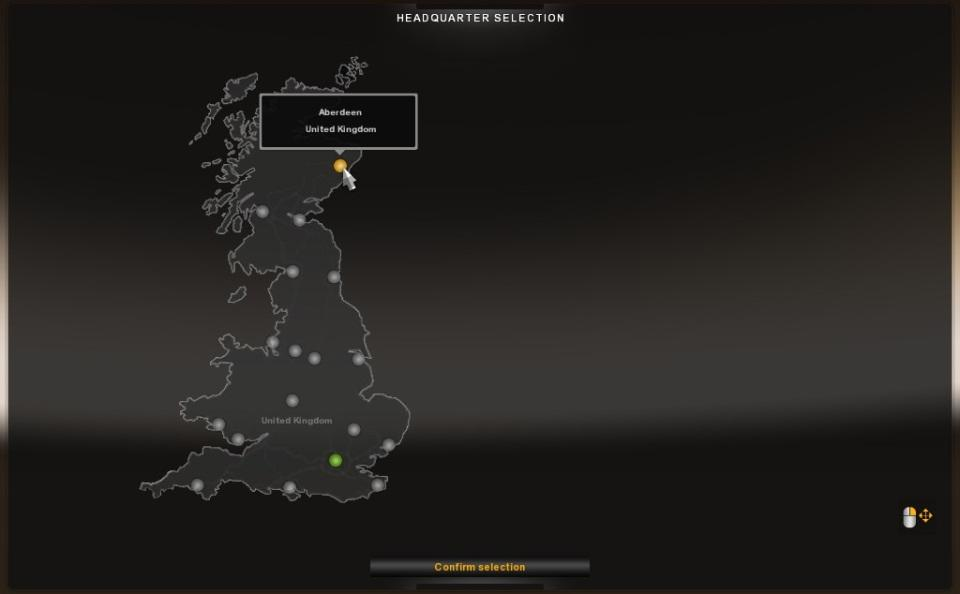 Truck Maps Uk UK MAP STANDALONE 1.20.X | ETS2 mods | Euro truck simulator 2 mods