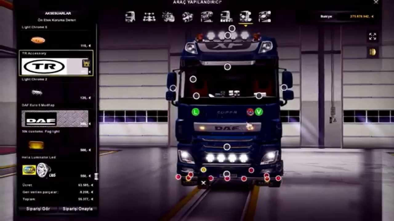 Euro truck simulator 2 mods daf xf 105 james s hislop pictures to pin - Daf E6 Interior Edit V2_1