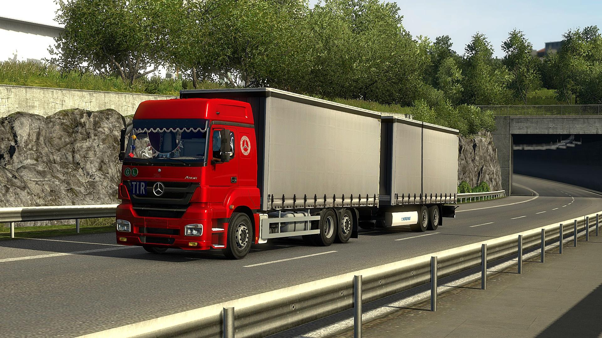 ets2 mercedes axor addons update ets2 mods euro truck. Black Bedroom Furniture Sets. Home Design Ideas