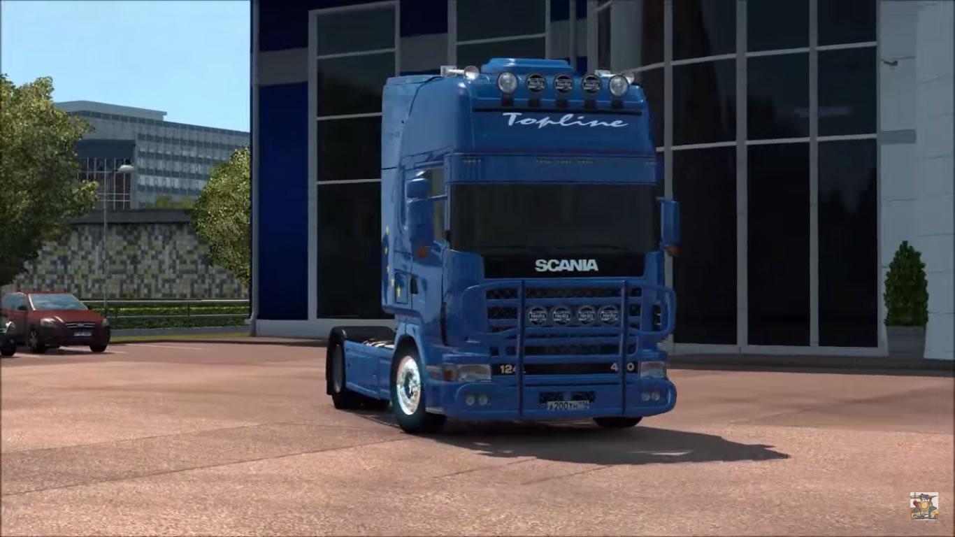 Scania R124 1 20 X 1 21 X Ets2 Mods Euro Truck