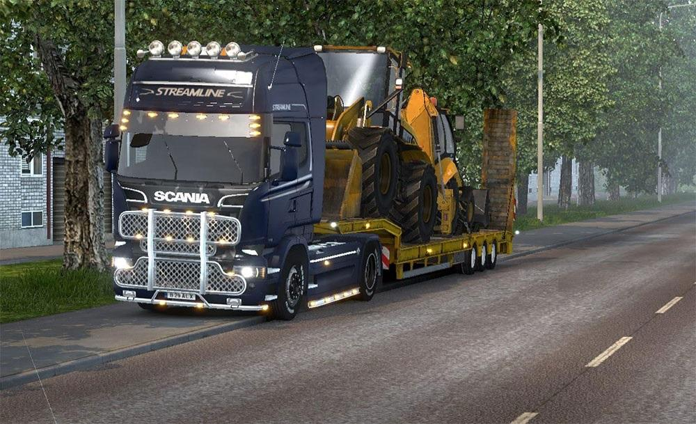 how to play american truck simulator online with mods