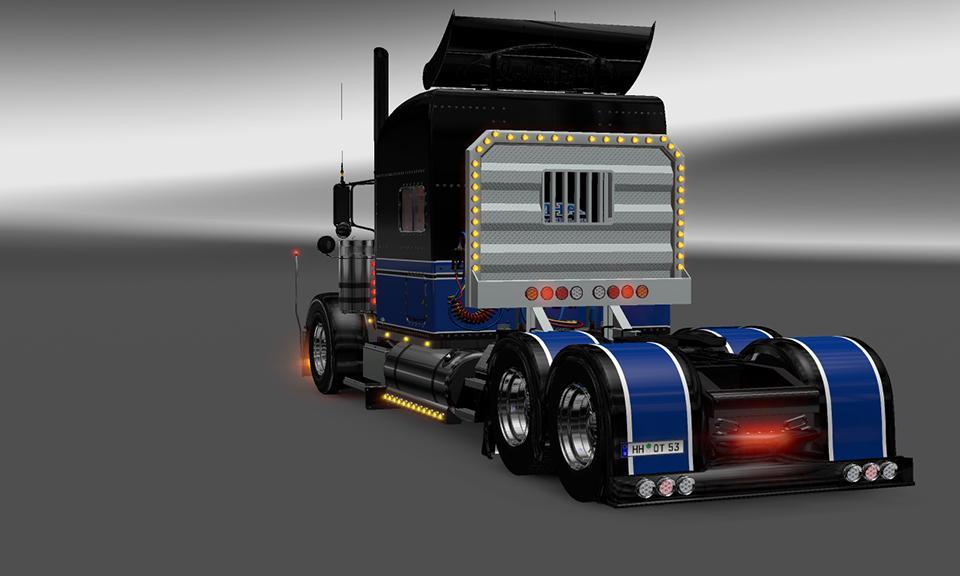 HHA SKIN1 VIPER2 MODIFIED 389 | ETS2 mods | Euro truck simulator 2 ...