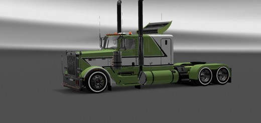lime-green-viper2s-modified-peterbuilt-389_1