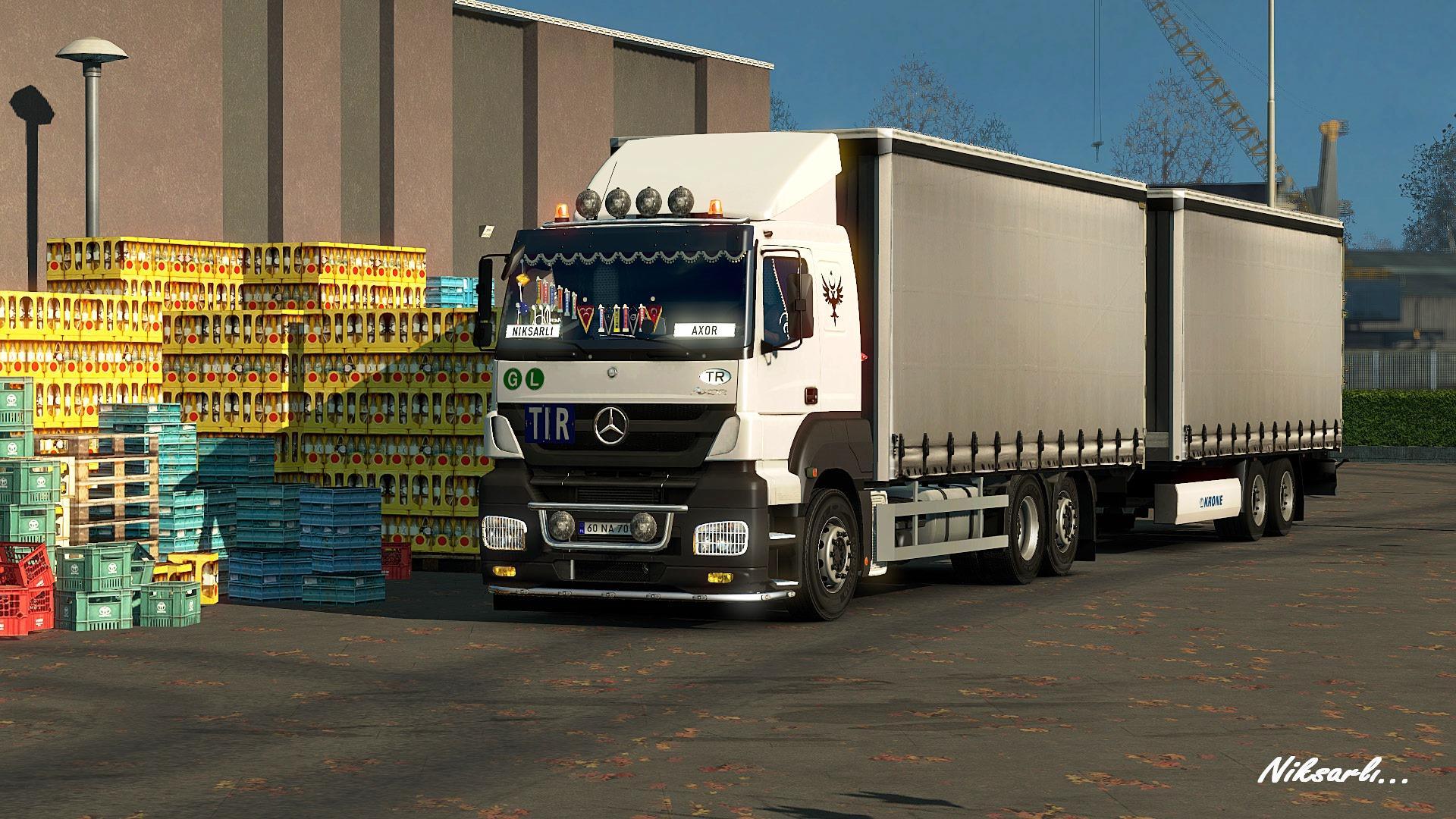 Volvo Truck Parts >> Mercedes Axor+Addons update 1.21 | ETS2 mods | Euro truck simulator 2 mods - ETS2MODS.LT