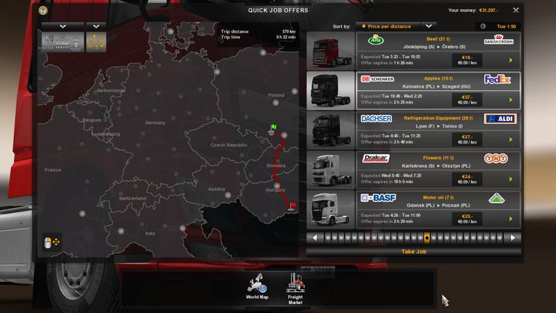 REALISTIC ECONOMY MOD V1 1 | ETS2 mods | Euro truck
