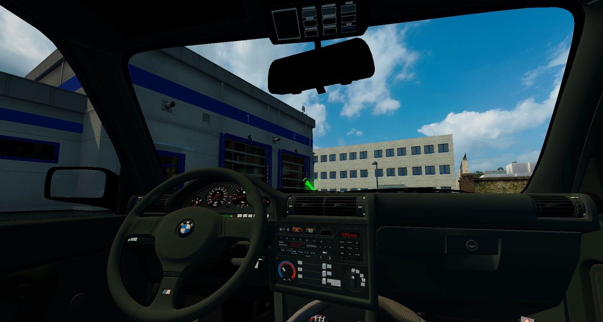 bmw e30 interior v1 0 ets2 mods euro truck simulator 2 mods ets2mods lt. Black Bedroom Furniture Sets. Home Design Ideas