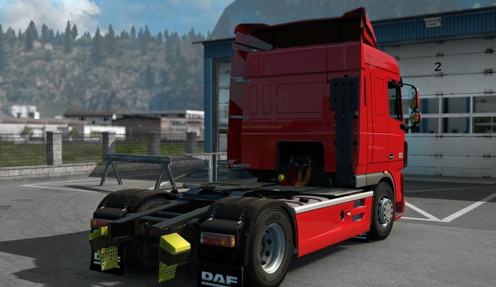 DAF XF 105 SC [121X]  Euro truck simulator 2 mods