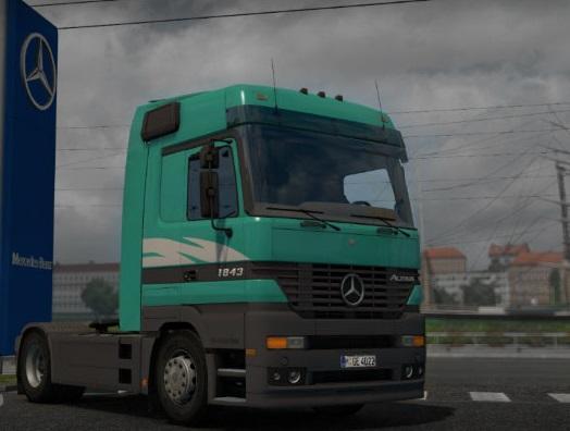 MERCEDES-BENZ ACTROS 1.21.X | ETS2 mods | Euro truck simulator 2 mods - ETS2MODS.LT