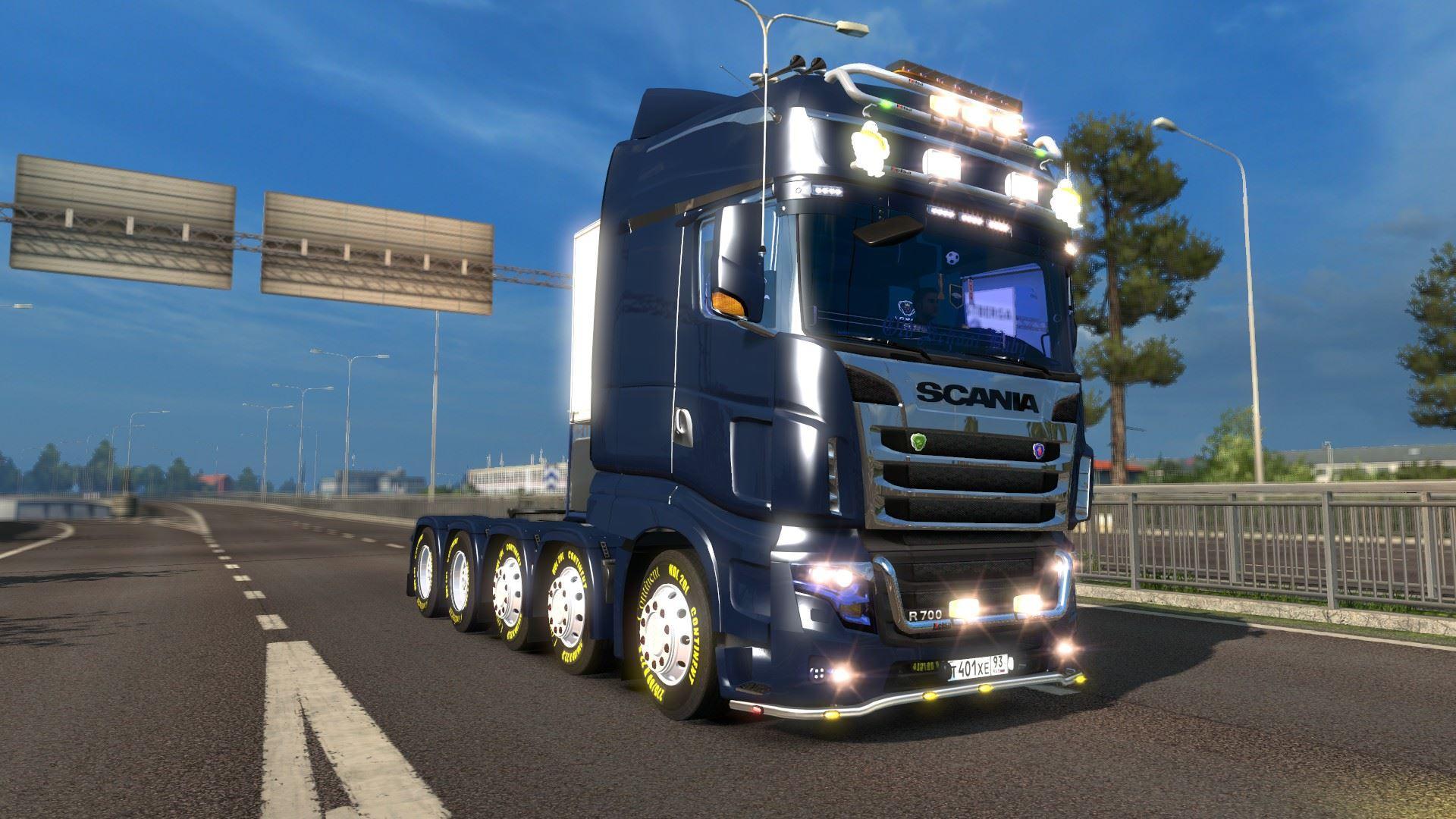 scania r700 new ets2 mods euro truck. Black Bedroom Furniture Sets. Home Design Ideas