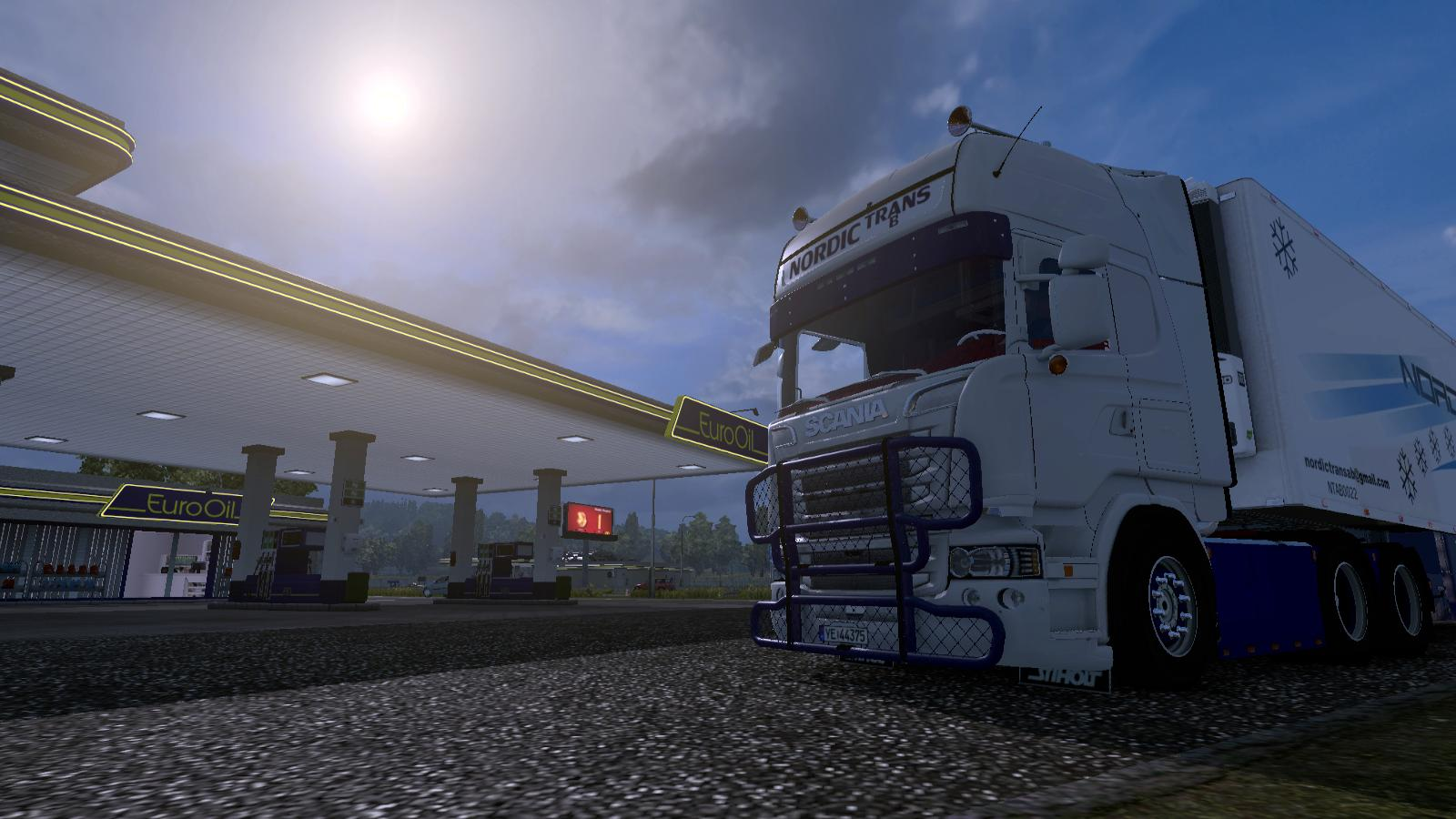 how to add truck to ets2 studio