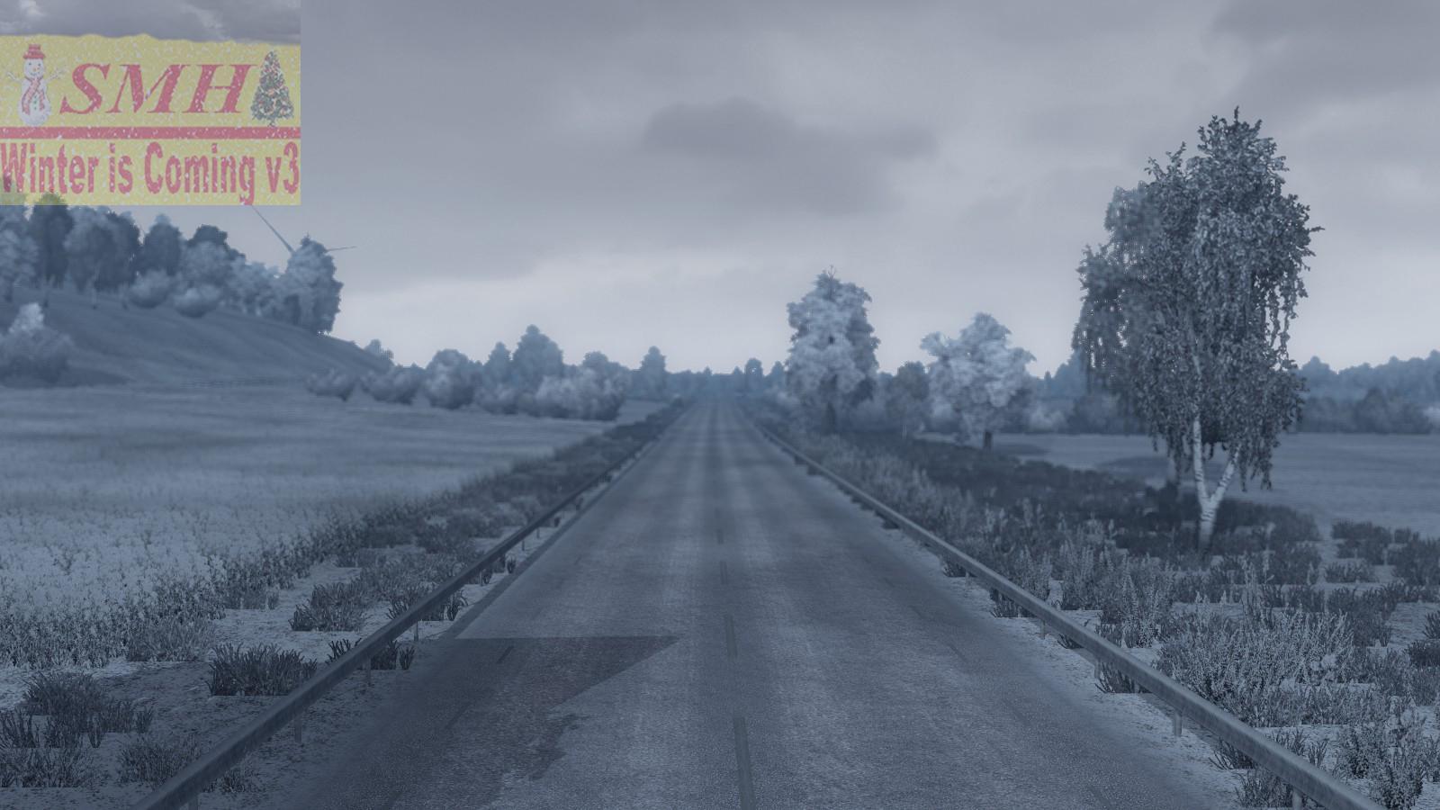 Best Snow Tires For Trucks >> WINTER IS COMING V3 1.21.X | ETS2 mods | Euro truck simulator 2 mods - ETS2MODS.LT