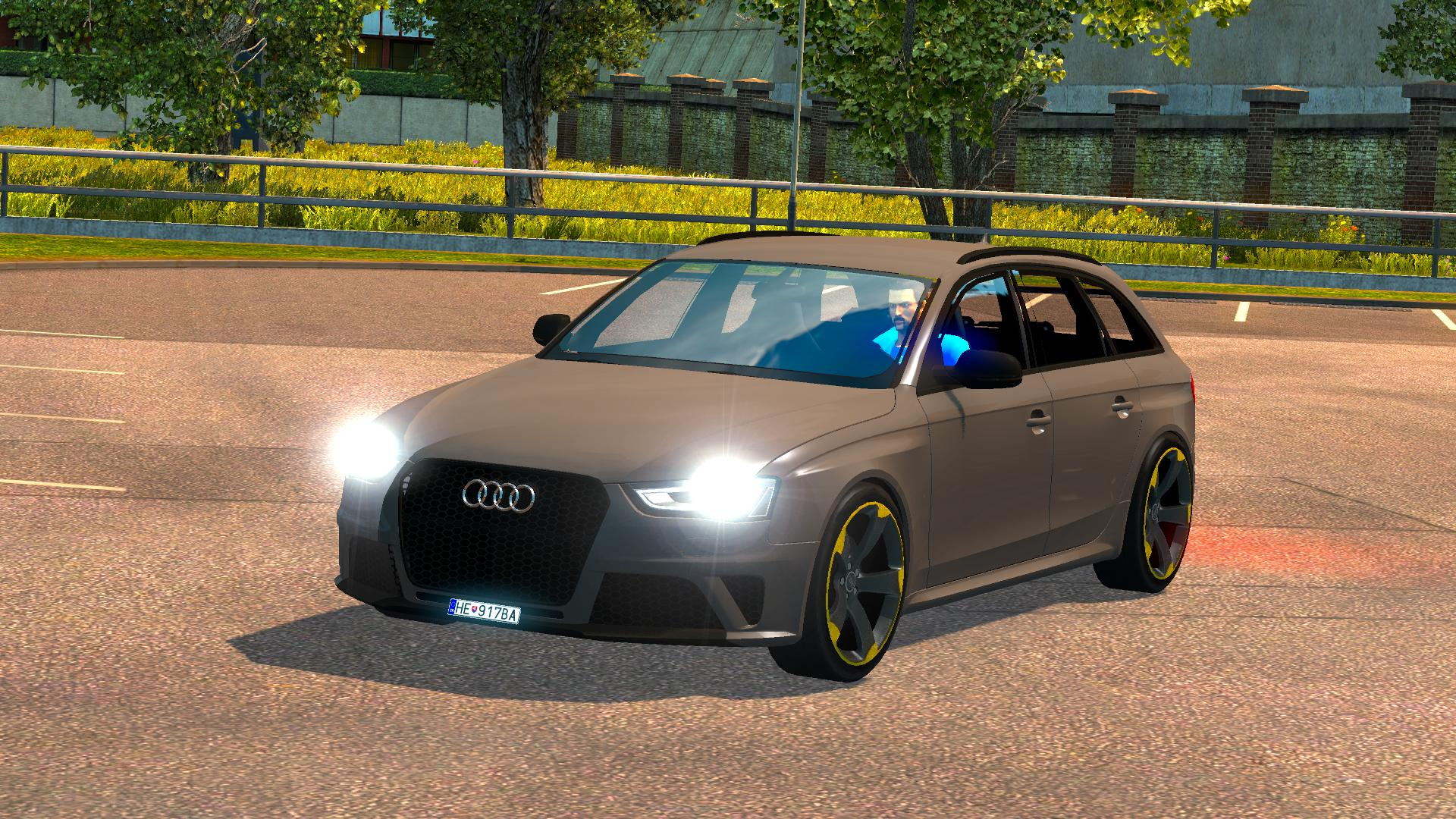 Audi Rs4 Updated Ets2 Mods Euro Truck Simulator 2 Mods Ets2mods Lt