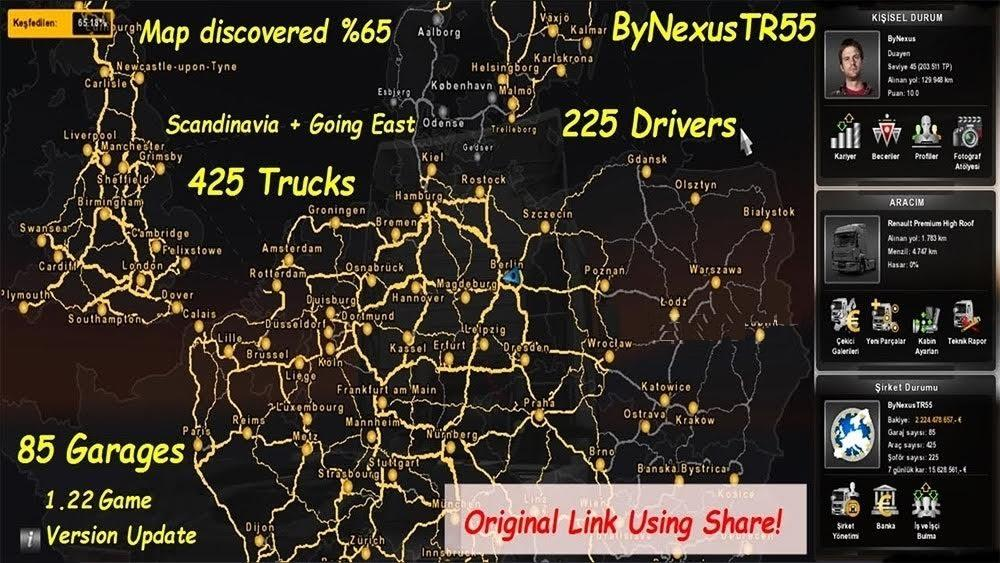 Full save 122x ets2 mods euro truck simulator 2 mods ets2mods ets 2 full save 1 22 x1 gumiabroncs Image collections