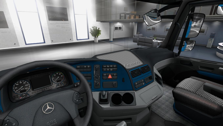 Mercedes Actros Mp3 Paint Interior 122x Ets2 Mods Euro Truck Benz 1 22