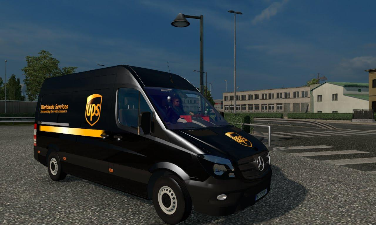 Mercedes Benz Sprinter Cdi311 2014 By Klolo901 V4 Ets2 Mods Euro Truck Simulator 2 Mods