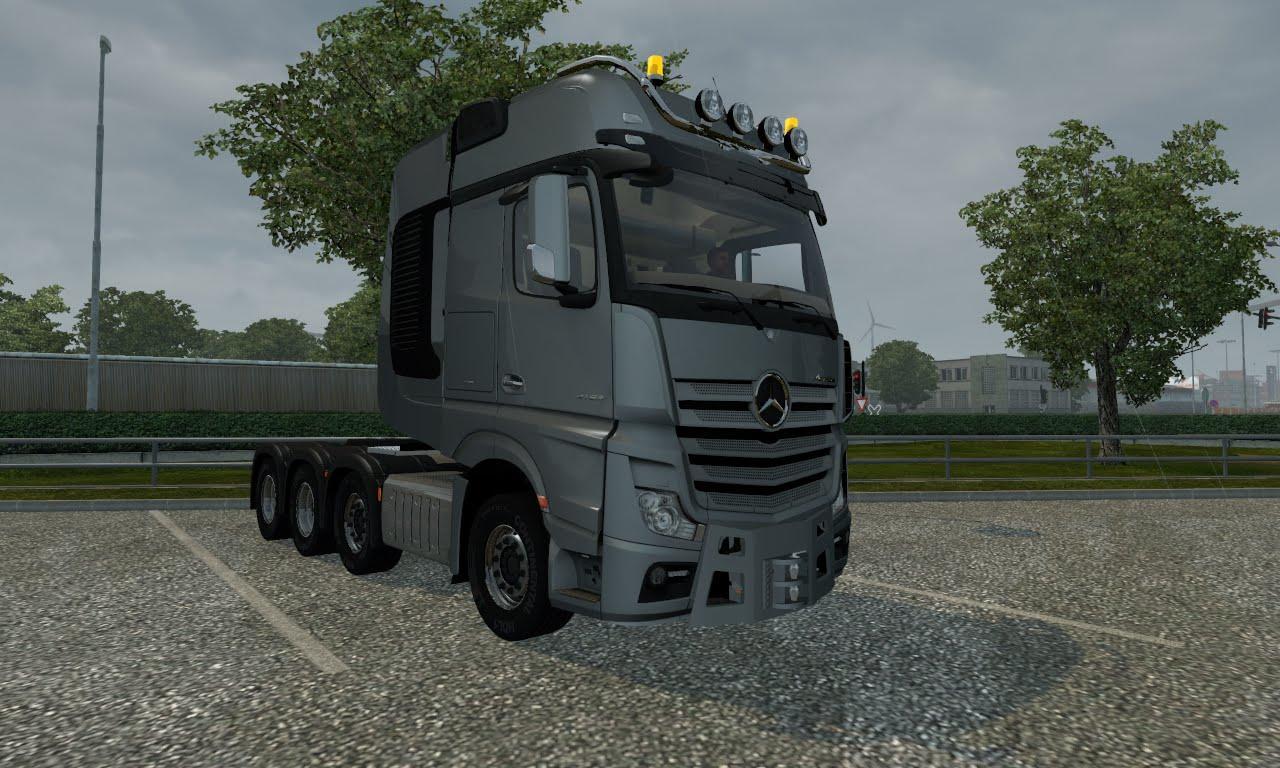 MERCEDES MP4 4163 SLT 1 22 X | ETS2 mods | Euro truck simulator 2