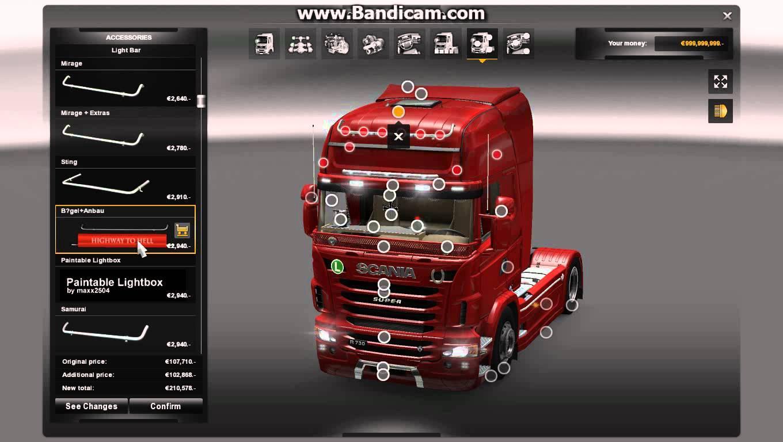 Scania Mega Tuning Mod 1 22 X Ets2 Mods Euro Truck