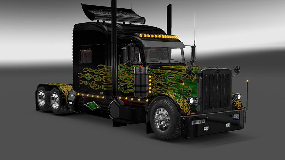The Limo Viper2 Modified Peterbilt 389 Ets2 Mods Euro