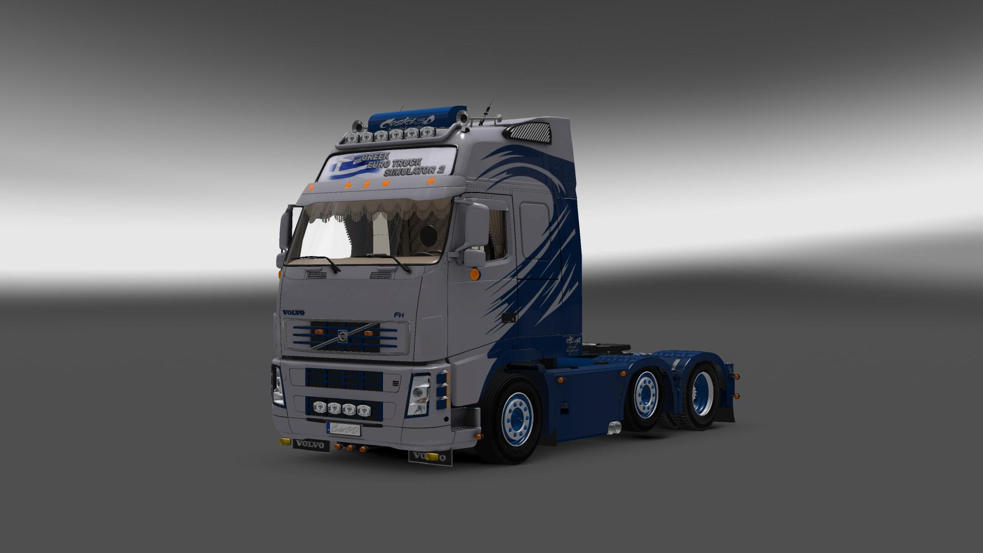 VOLVO FH16 GREEK 1 22 | ETS2 mods | Euro truck simulator 2 mods