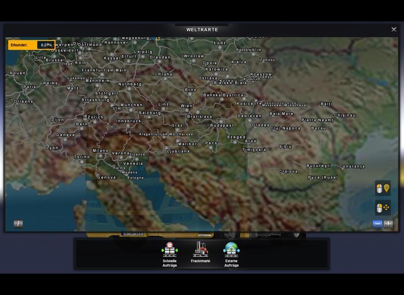 EUROPAMAP IN COLOR V2 0 PROMODS   ETS2 mods   Euro truck